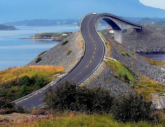 Las 14 carreteras mas asombrosas